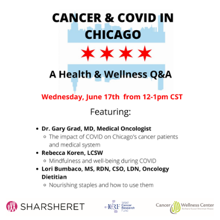 Cancer and Covid in Chicago webinar (June 17)