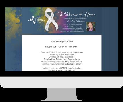 Ribbons of Hope Gala Website