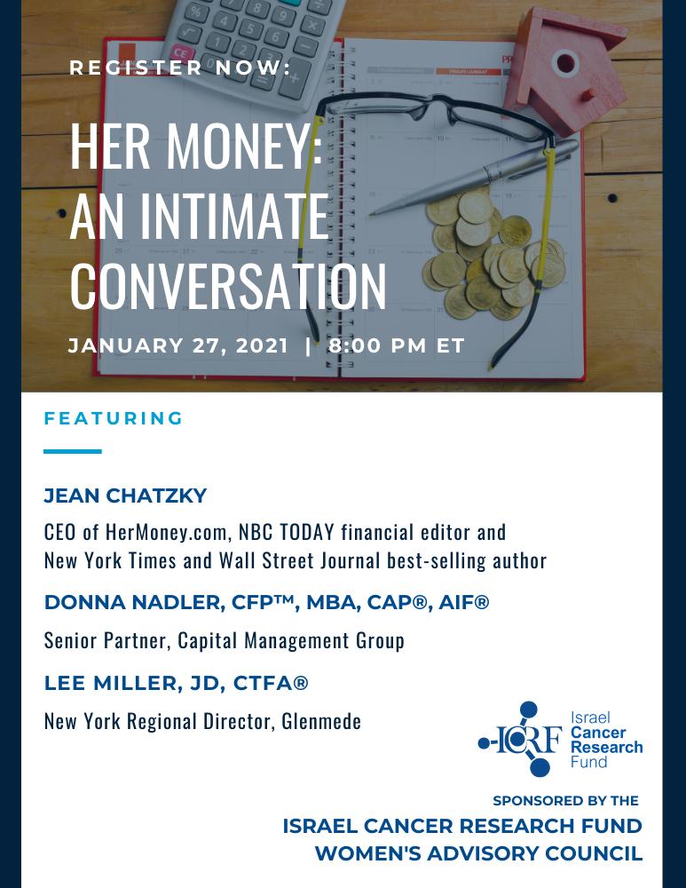 WAC Her Money event flyer