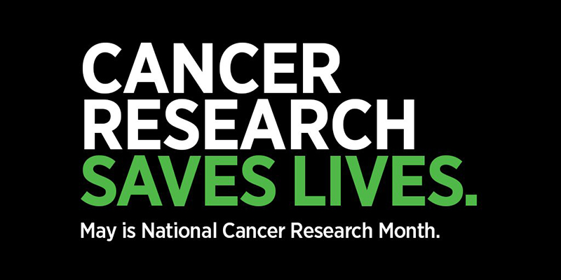 May is National Cancer Research Month (Credit: AACR)