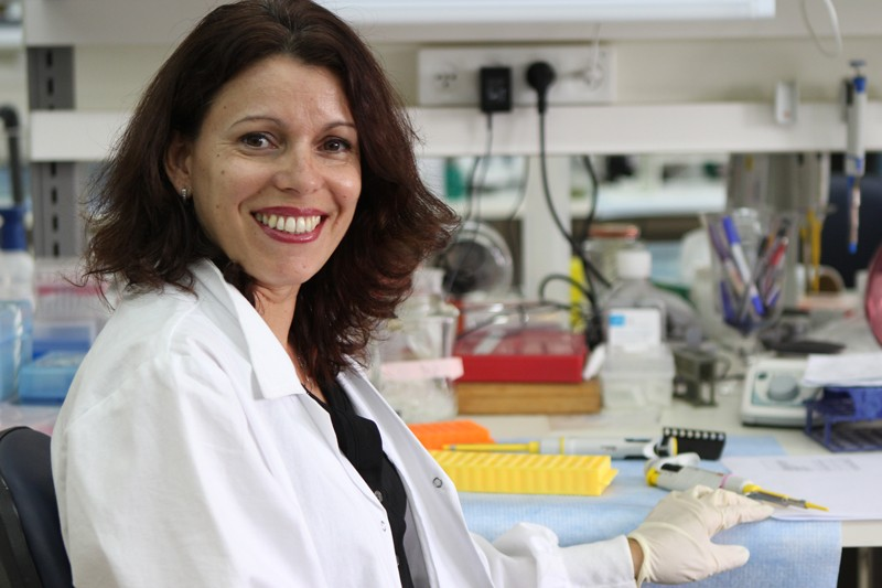 Neta Erez, PhD, ICRF Project Grant Recipient and winner of a 2020 Nature Research Award for Mentoring in Science.